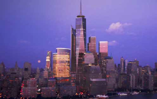 The New World Trade Center Skyline
