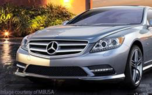 Silver Mercedes-Benz Parked in a driveway