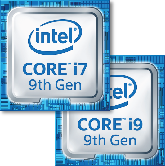 Intel 9th logo