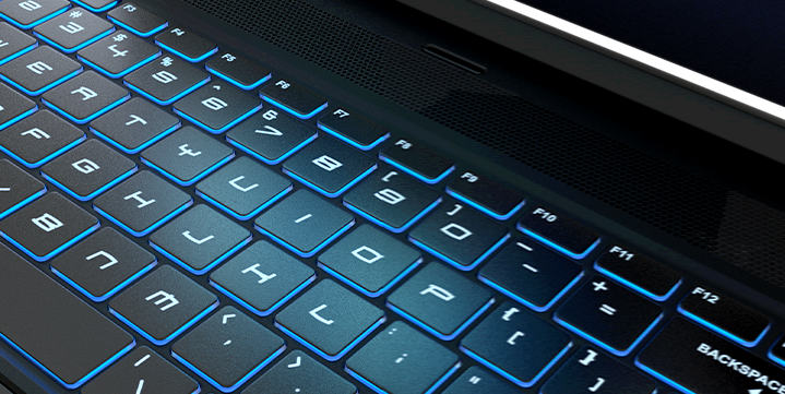close up of a GoBOXX system keyboard