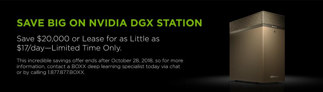 NVIDIA DGX STATION information flyer